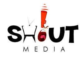 Nro 64 kilpailuun Design a Logo for ShoutMedia käyttäjältä shwetharamnath