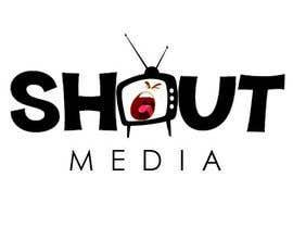 Nro 82 kilpailuun Design a Logo for ShoutMedia käyttäjältä shwetharamnath