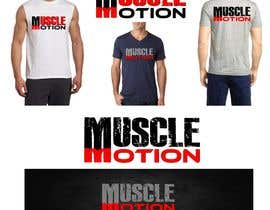 #15 untuk Modify and adapt text lettering for Gym Wear T-Shirt oleh Srbenda88
