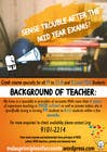 Design a Flyer for Tuition için Graphic Design6 No.lu Yarışma Girdisi