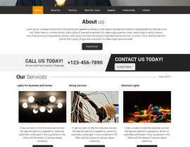 #6 for Build a Website for a small local electrical company af designcreativ