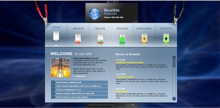 Inscrição nº 12 do Concurso para Build a Website for a small local electrical company