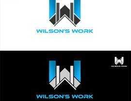 "#103 para Design a logo for ""WILSON's WORK"" por hubbak"