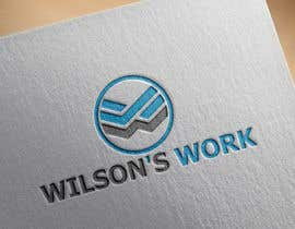 "#87 para Design a logo for ""WILSON's WORK"" por starlogo01"