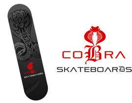 #8 for Design a Logo for Cobra Skateboards af sunny9mittal
