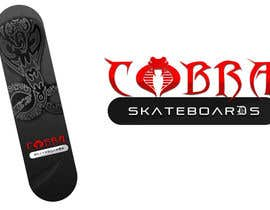#9 for Design a Logo for Cobra Skateboards af sunny9mittal