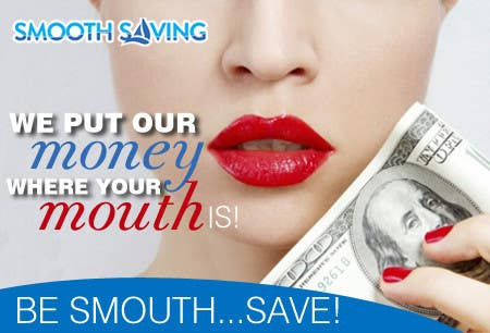 """Contest Entry #26 for Design a postcard with theme """"We put our money where your mouth is!"""""""