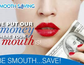 "#26 para Design a postcard with theme ""We put our money where your mouth is!"" por eirinigj"