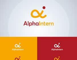 Nro 20 kilpailuun Design a Logo for AlphaIntern käyttäjältä abdofrahat