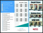 Graphic Design Contest Entry #7 for Design a Tr-Fold Brochure for Storage Company