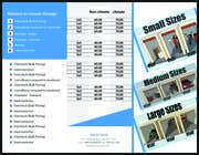 Graphic Design Contest Entry #8 for Design a Tr-Fold Brochure for Storage Company