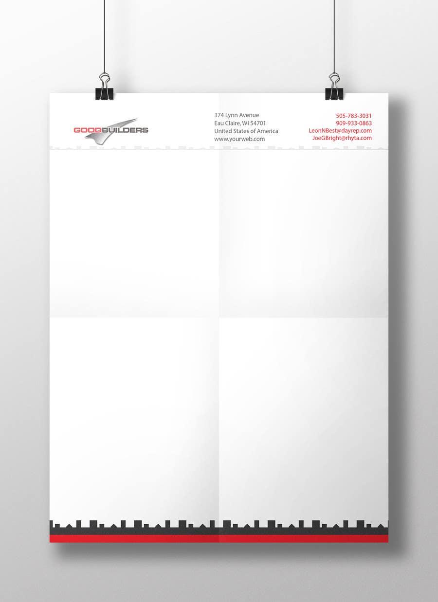 Penyertaan Peraduan #76 untuk Design me a Letter Head!