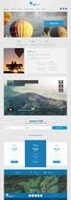 Graphic Design Inscrição no Concurso #3 de Webdesign for website about balloon flights