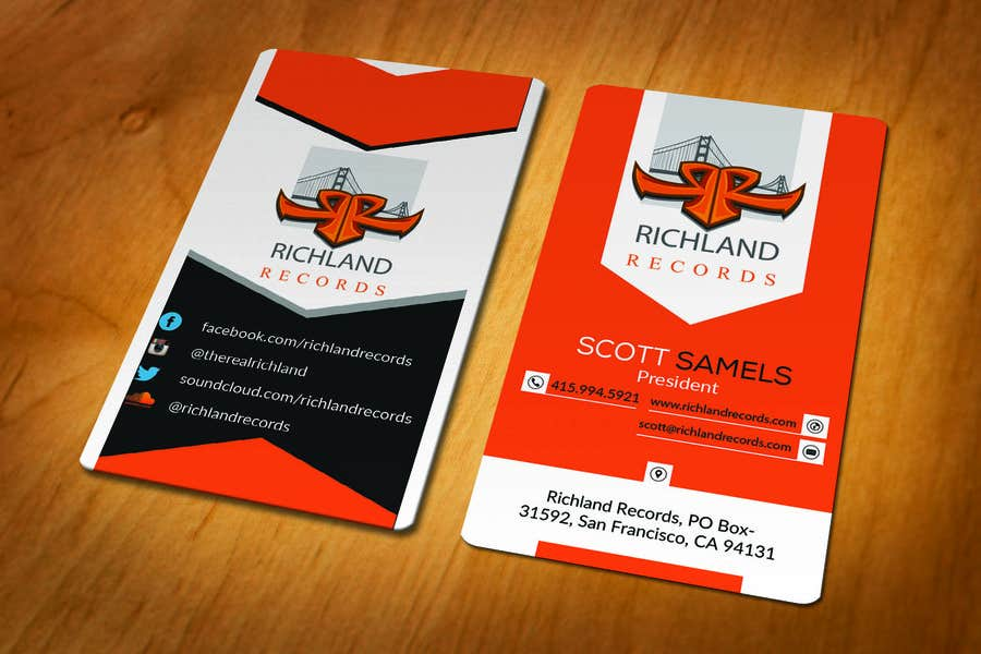 Contest Entry #95 for Brand-new business cards!