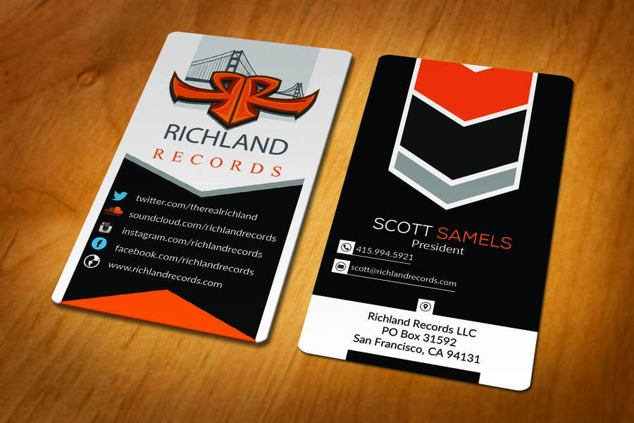 Kilpailutyö #149 kilpailussa Brand-new business cards!