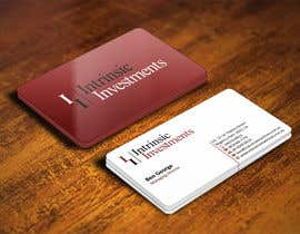 #23 untuk Design some Business Cards for Intrinsic Investments oleh ezesol