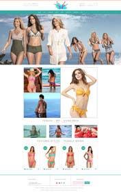 #11 for Design a Website Mockup for Lumé Swimwear af logodesire