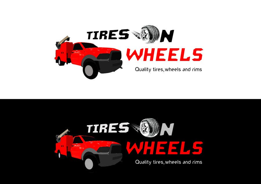 Participación en el concurso Nro.139 para Logo Design for Tires On Wheels
