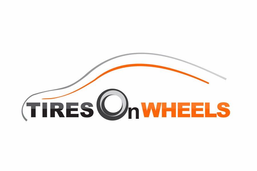 Penyertaan Peraduan #165 untuk Logo Design for Tires On Wheels