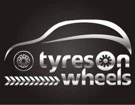 #169 untuk Logo Design for Tires On Wheels oleh ktmehta