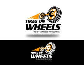 #177 สำหรับ Logo Design for Tires On Wheels โดย jijimontchavara