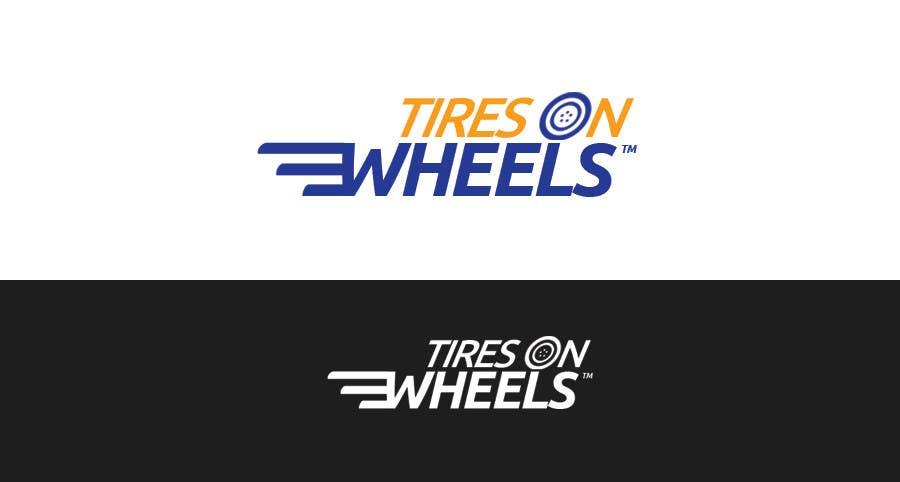 Penyertaan Peraduan #98 untuk Logo Design for Tires On Wheels