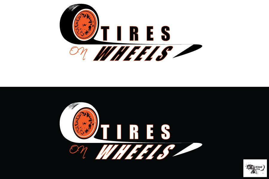Penyertaan Peraduan #150 untuk Logo Design for Tires On Wheels
