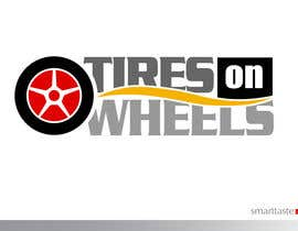 #174 untuk Logo Design for Tires On Wheels oleh smarttaste