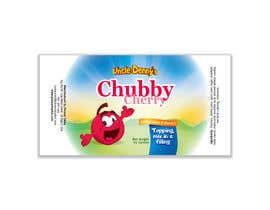 #52 for Chubby Cherry label re-design af DakotaBashir