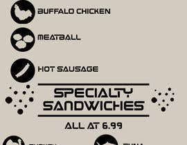 #14 untuk I need some Graphic Design for Hoagie Menu layout oleh rileymok