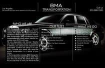 Design an Advertisement for a car service and limo company için Advertisement Design56 No.lu Yarışma Girdisi