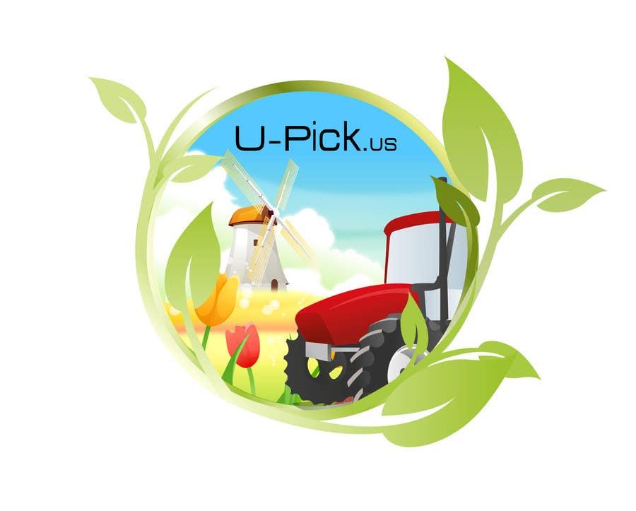 Penyertaan Peraduan #82 untuk Design a Logo for U-Pick.us