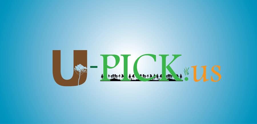 Penyertaan Peraduan #80 untuk Design a Logo for U-Pick.us
