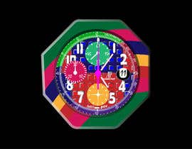 nº 10 pour Illustrate An Artistic Watch Face Design Painting par pranj007