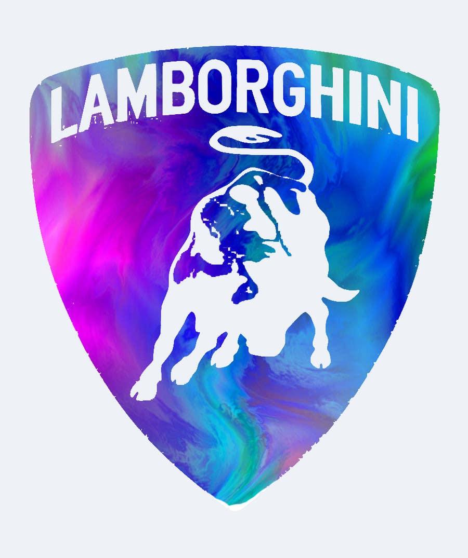 Contest Entry #                                        25                                      for                                         Illustrate a Painted Lamborghini Logo Design