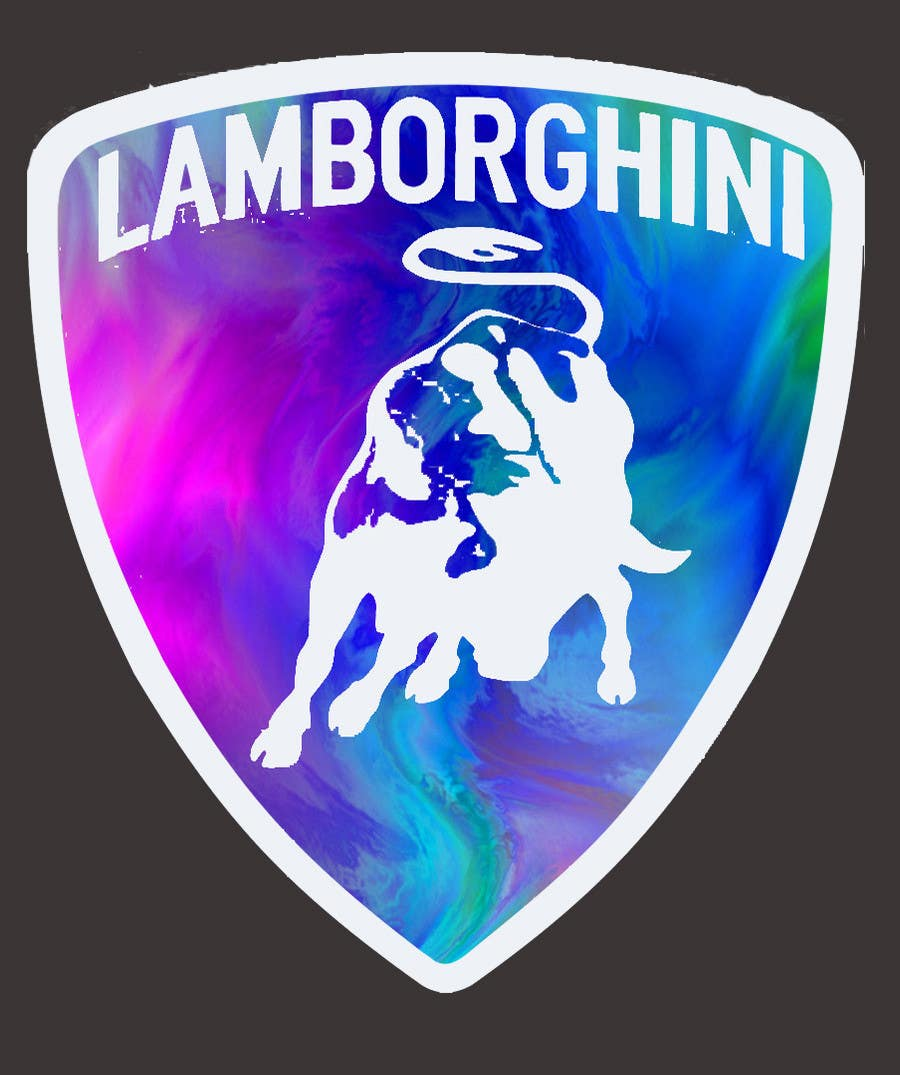 Contest Entry #                                        27                                      for                                         Illustrate a Painted Lamborghini Logo Design