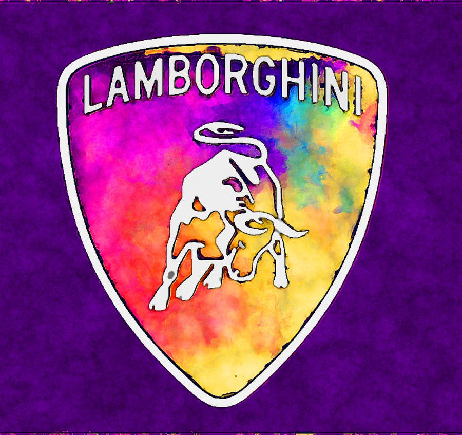 Contest Entry #                                        16                                      for                                         Illustrate a Painted Lamborghini Logo Design