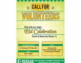 #17 untuk 'Call for Volunteers' - Islamic Flyer oleh sajjidkhan
