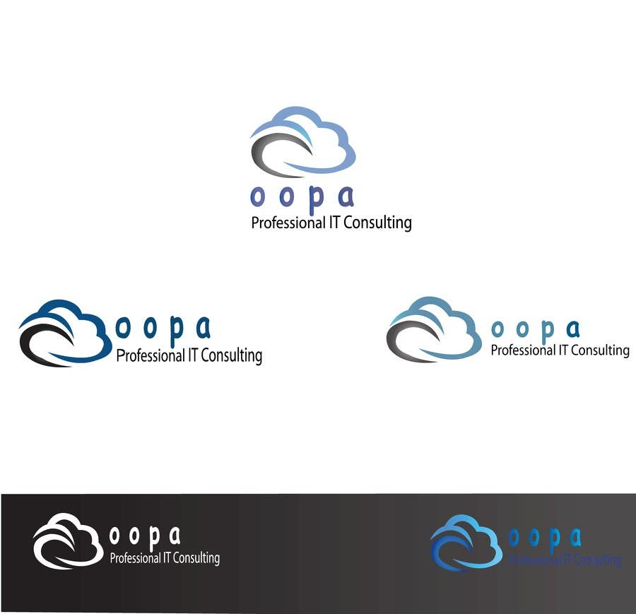 """Bài tham dự cuộc thi #                                        169                                      cho                                         Exciting new logo for an IT services firm called """"oopa"""""""