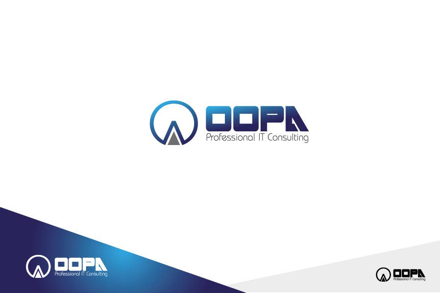 """Bài tham dự cuộc thi #                                        108                                      cho                                         Exciting new logo for an IT services firm called """"oopa"""""""