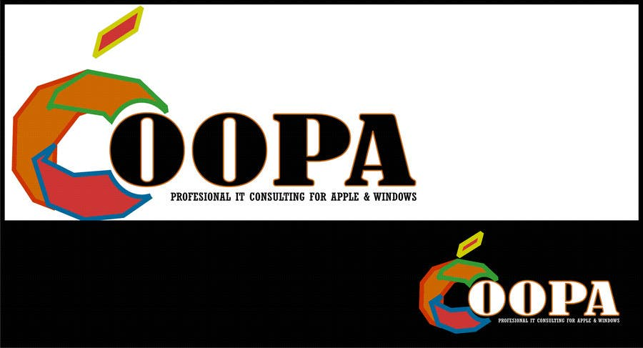 """Bài tham dự cuộc thi #                                        161                                      cho                                         Exciting new logo for an IT services firm called """"oopa"""""""