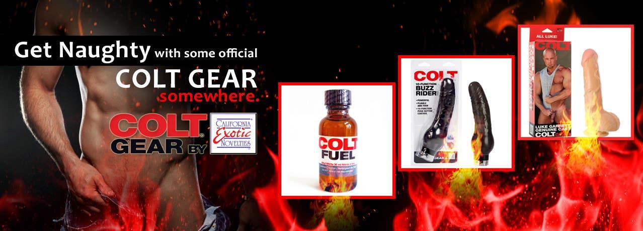 Konkurrenceindlæg #                                        15                                      for                                         Design a Banner for my Adult Website (COLT brand)