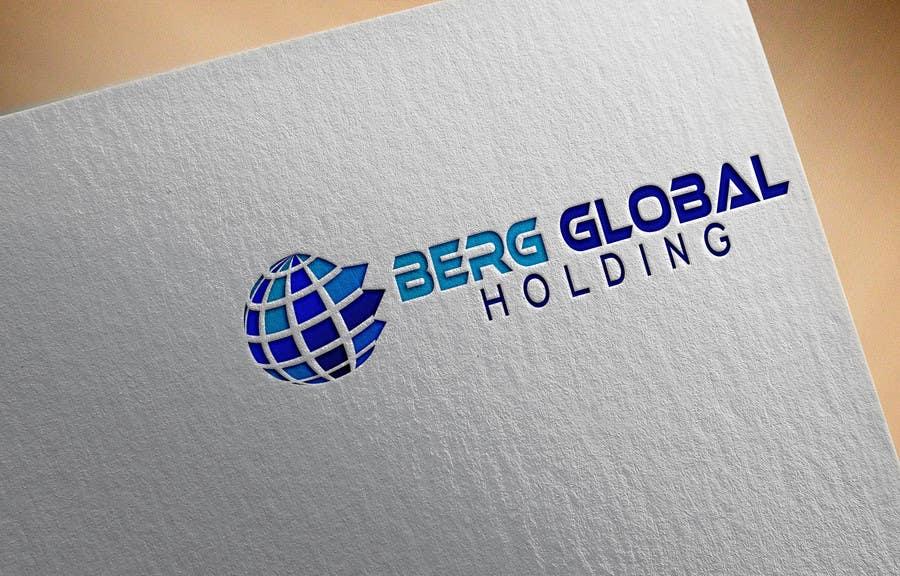 Konkurrenceindlæg #                                        2                                      for                                         Design a Logo for Berg Global Holding Company