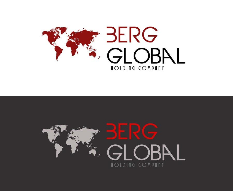 Konkurrenceindlæg #                                        49                                      for                                         Design a Logo for Berg Global Holding Company