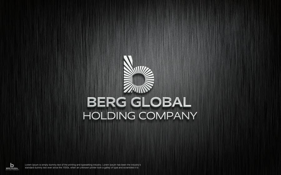 Contest Entry #                                        46                                      for                                         Design a Logo for Berg Global Holding Company