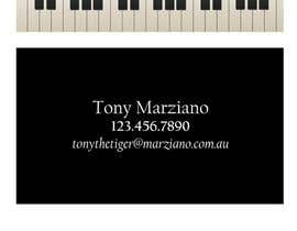 #41 para Design some Business Cards for a Piano teaching business por AngiH70