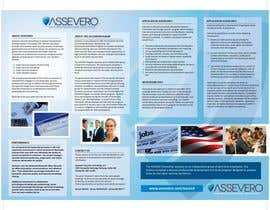 #12 for Design a Brochure for Assevero Security Consulting af Manojm2