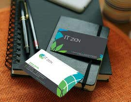 #126 untuk Design some Business Cards for IT Zen oleh jewelbabu14