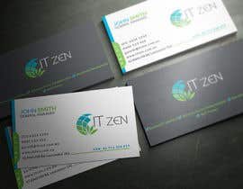 youart2012 tarafından Design some Business Cards for IT Zen için no 43