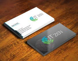 gohardecent tarafından Design some Business Cards for IT Zen için no 67